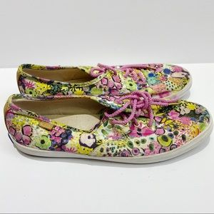 Keds floral sneakers